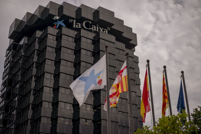 La sede di CaixaBank