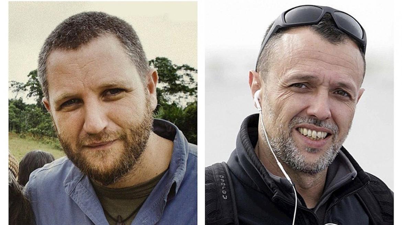 Il documentarista David Beriain e il cameraman Roberto Fraile