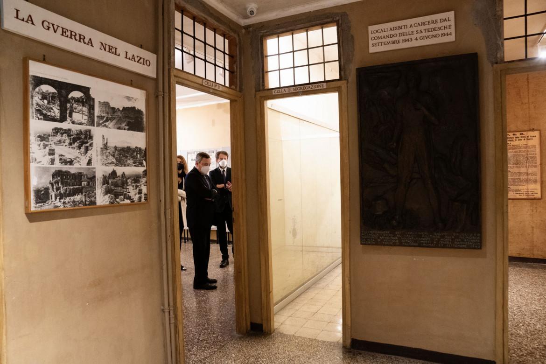 Il Presidente 25 aprile 2021, Draghi al Museo storico della Liberazione di via Torquato Tasso in Roma