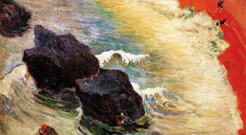 Paul Gauguin, «La nona onda», 1888