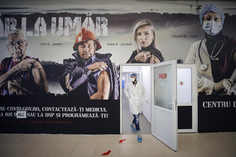 Campagna di vaccinazione a Bucarest