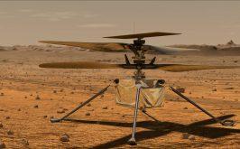 L8217aerogiro di Ingenuity sul rosso Marte