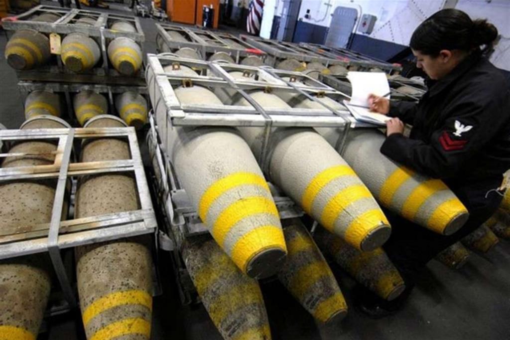 Bombe Rwm prodotte in Sardegna