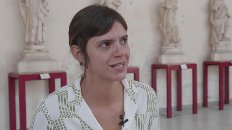 Nella foto la scrittrice Valeria Luiselli