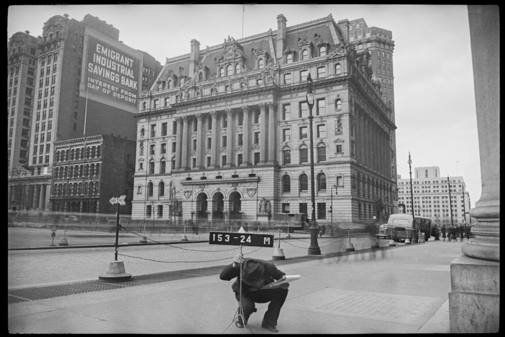 New York, 1940 ca.