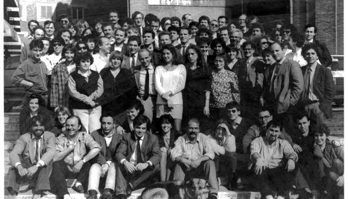 il manifesto, foto di gruppo 1988