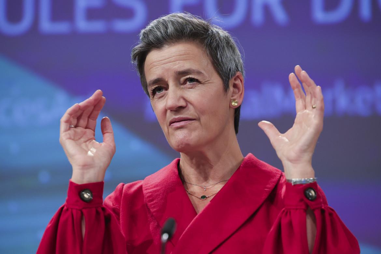 La vicepresidente della Commissione Ue Margrethe Vestager