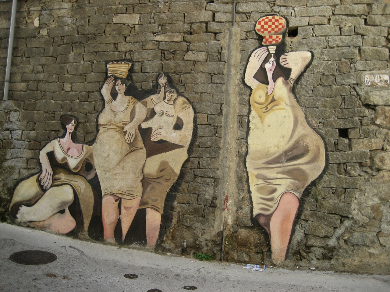 Murales a Orgosolo (Sardegna)