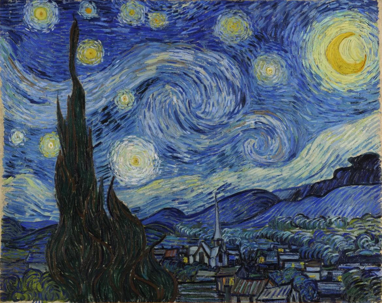Vincent Van Gogh, «La notte stellata», 1889