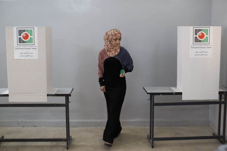 Voto per le comunali del 2012 in Cisgiordania