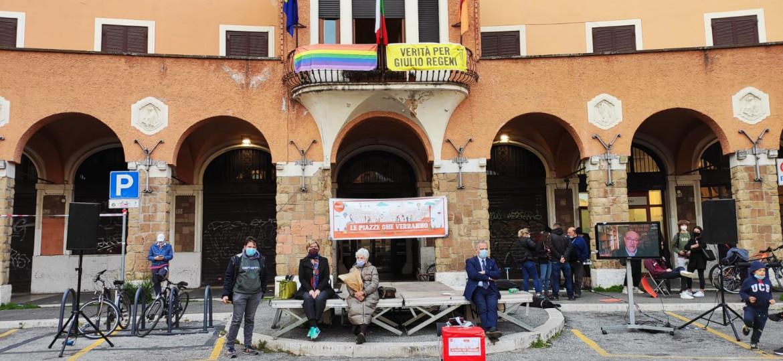 Assemblea a Piazza Sempione, Roma