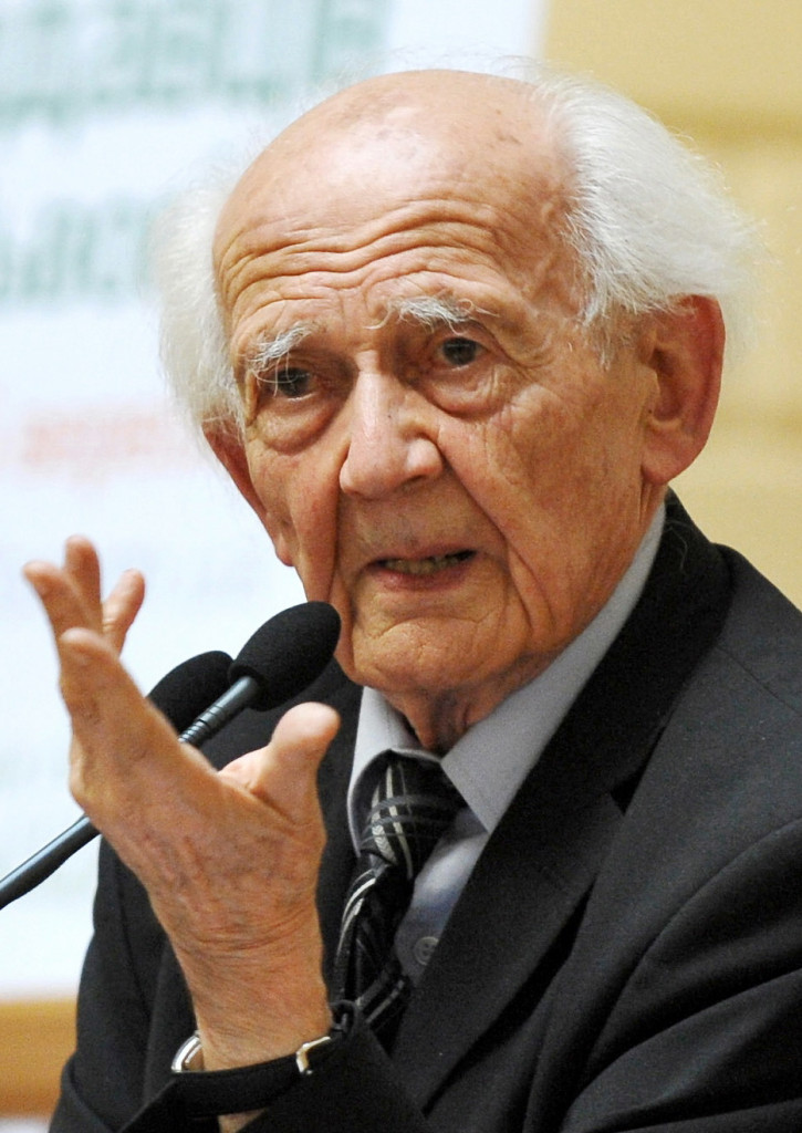 Nella foto Zygmunt Bauman