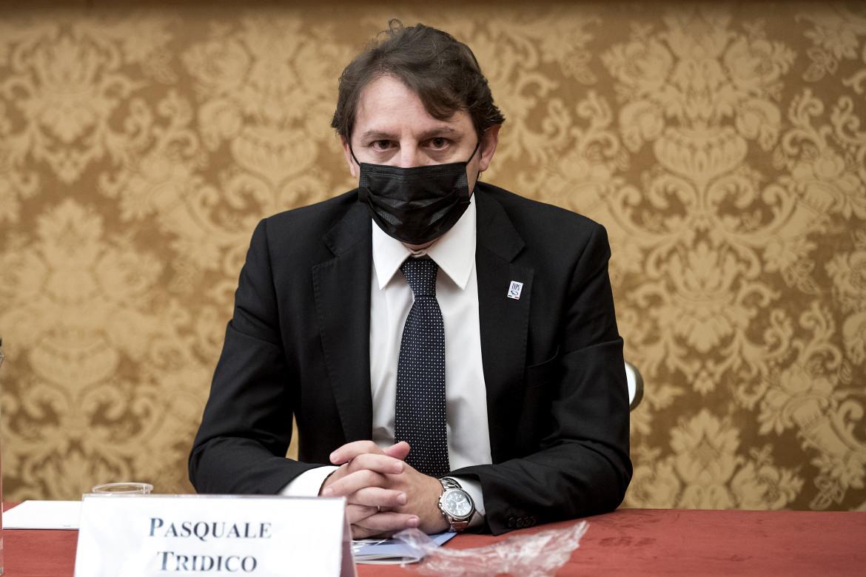 Il presidente dell'Insp Pasquale Tridico