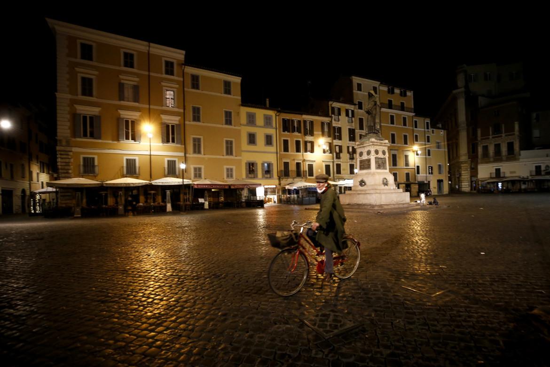 Roma durante il coprifuoco