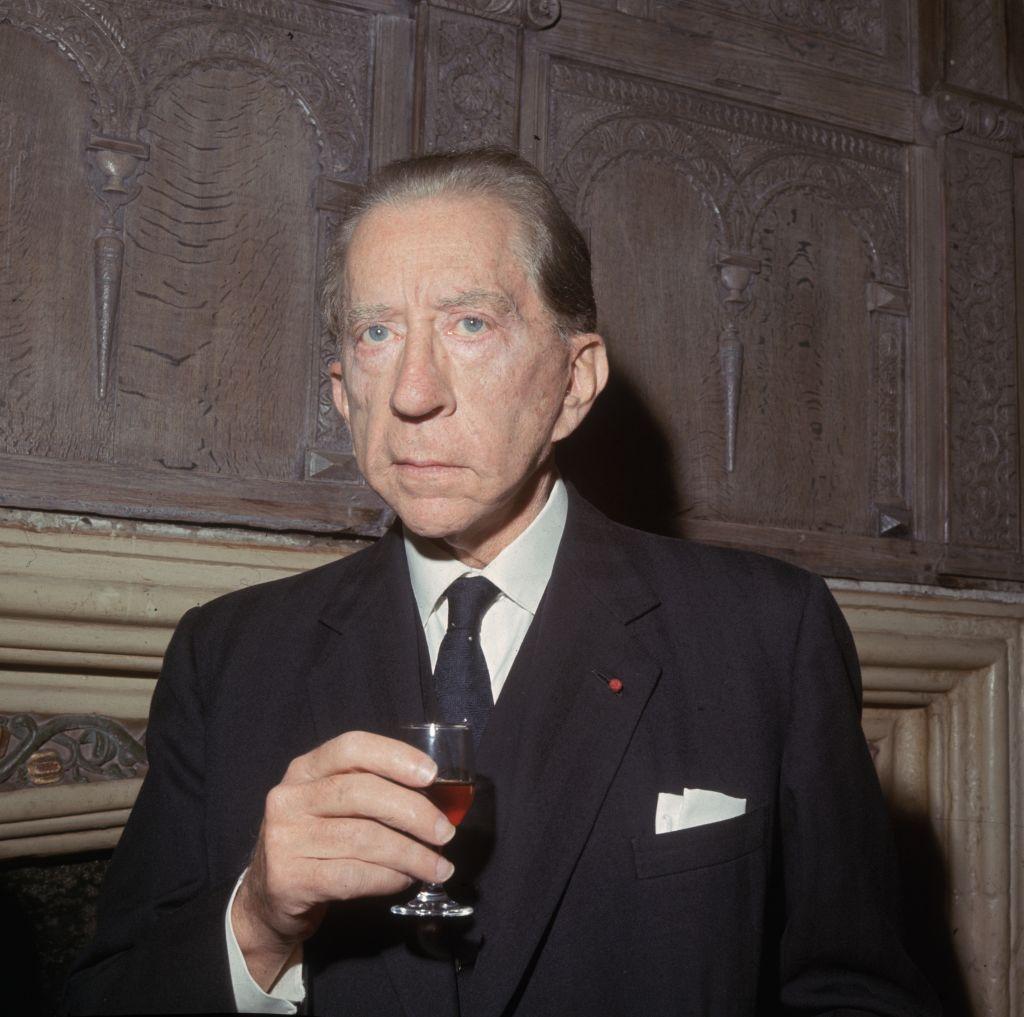 Jean Paul Getty nel 1960 circa, foto da Hulton Archive