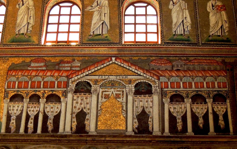 Palatium di Teodorico, sant'Apollinare Nuovo, Ravenna