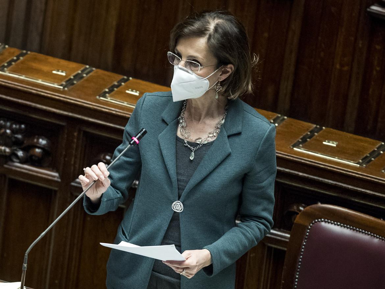 La ministra della giustizia Marta Cartabia