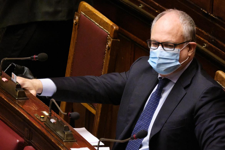 L'ex ministro dell'Economia Roberto Gualtieri