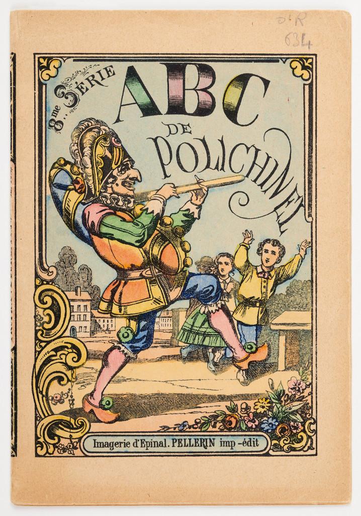 ABC de Polichinel, monographie imprimee de Pellerin Cie a Epinal fin du 19e siecle (Mucem, Marianne Kuhn)