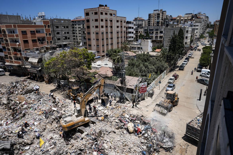 Le rovine a Gaza City