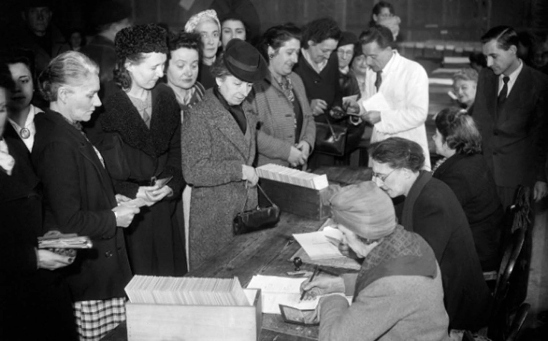 Il primo voto delle donne