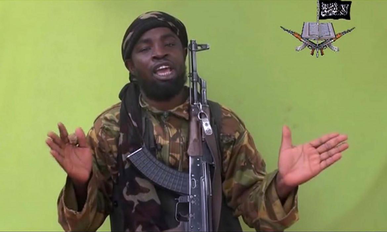 Abubakar Shekau nel 2016 durante una delle sue deliranti video-rivendicazioni