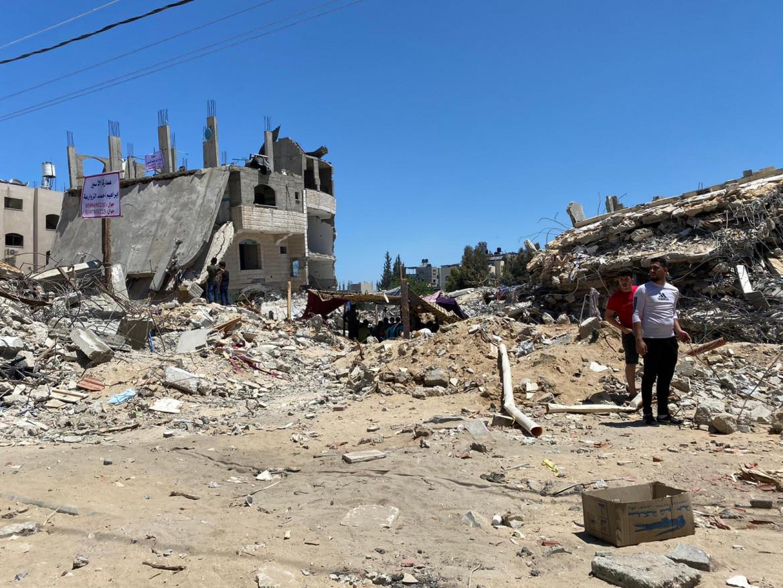 Gaza dopo i bombardamenti