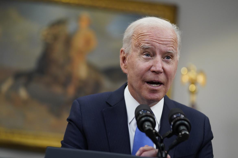 Il presidente statunitense Joe Biden