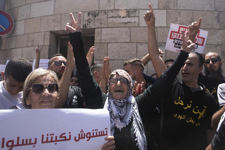 Gerusalemme. Proteste a Silwan
