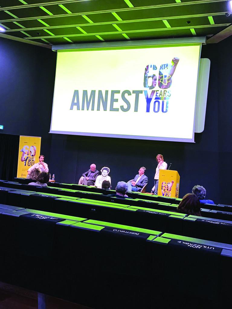 Auditorium del Maxxi, al via le celebrazioni per i 60 anni di Amnesty international
