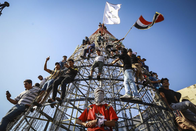 Lavoratori del settore energia a Baghdad