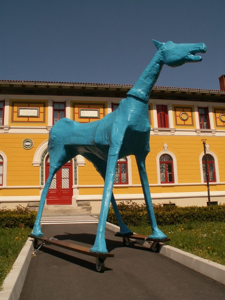 «Marco Cavallo» opera realizzata nel '73 nel manicomio di Trieste