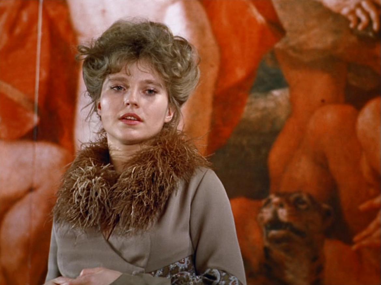 Hanna Schygulla interpreta Karin Thimm nel film di Rainer Werner Fassbinder Le lacrime amare di Petra von Kant, Germania Ovest, 1972