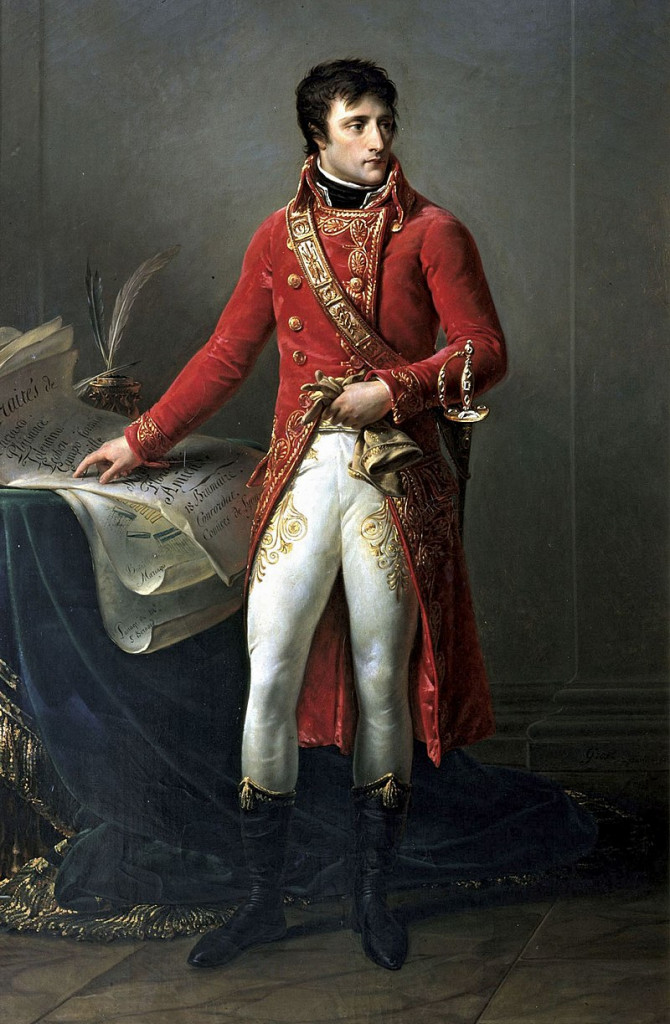 «Bonaparte, primo console» di Antoine-Jean Gros, 1802