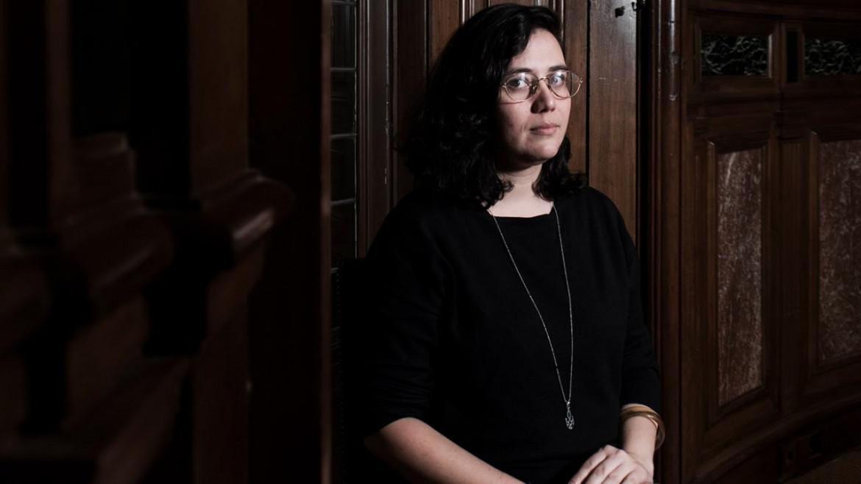 La scrittrice Ana Llurba