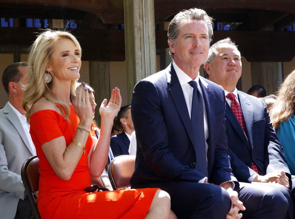 Il governatore della California Gavin Newsom
