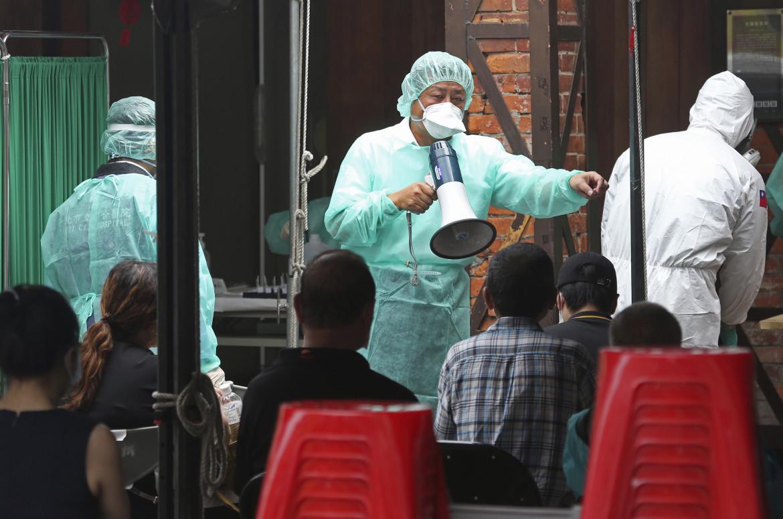 Test rapidi per il coronavirus a Taiwan