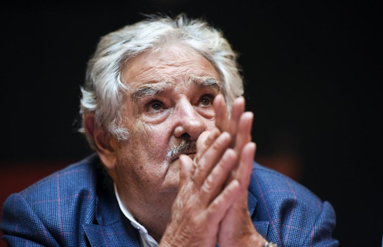 José Mujica nel 2014 quando era presidente dell'Uruguay