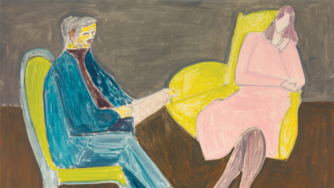 Milton Avery, «Young Couple (Husband and Wife)», 1963