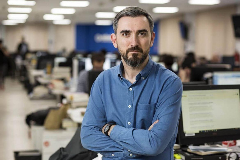 Il direttore di eldiario.es Ignacio Escolar
