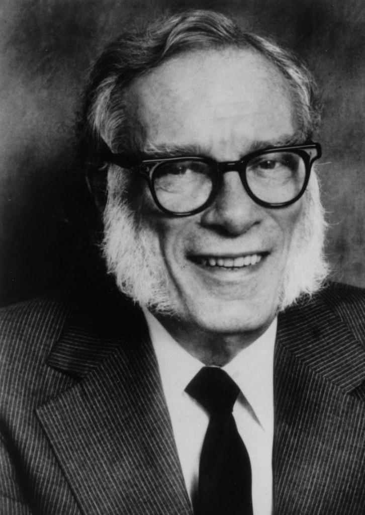 Nella foto Isaac Asimov