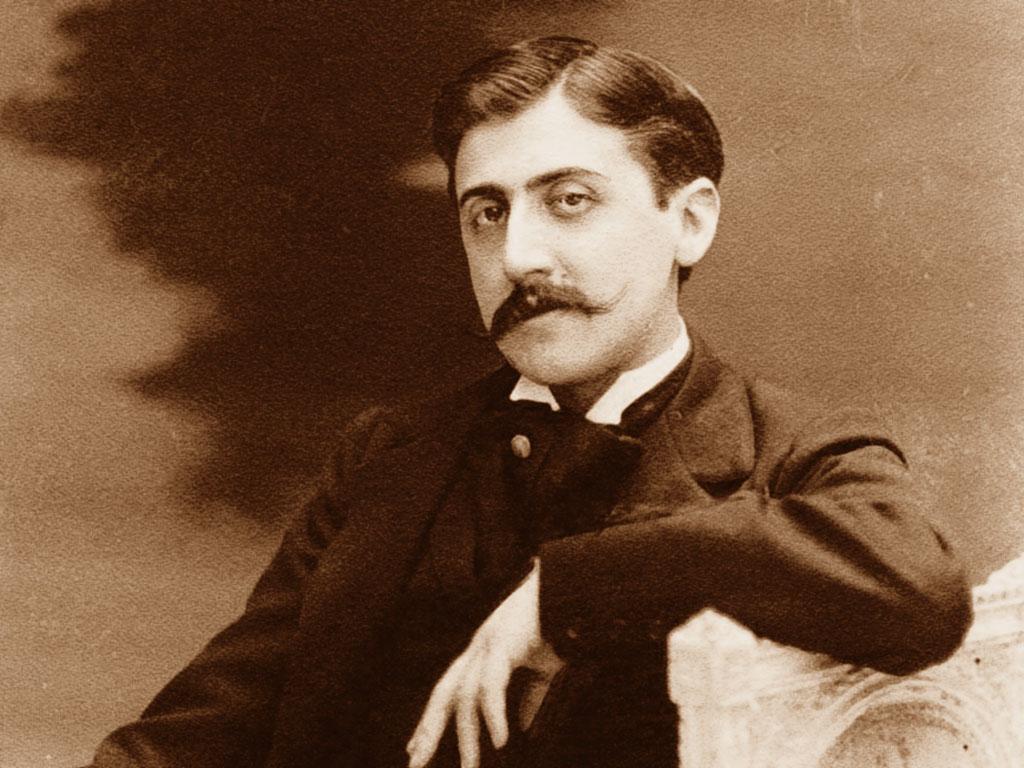Nella foto Marcel Proust