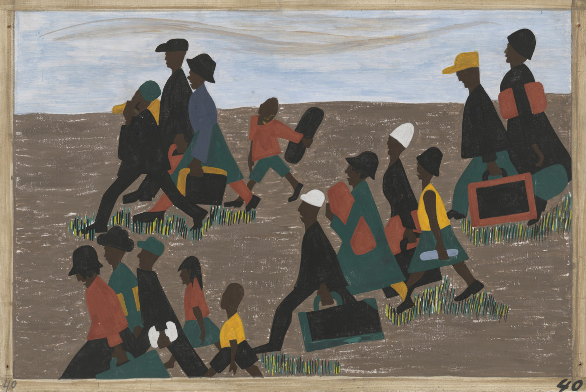 Jacob Lawrence, The migration series