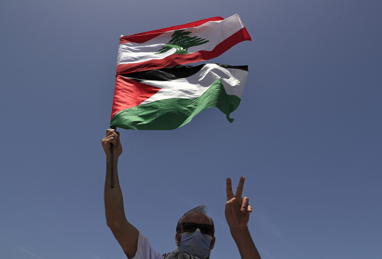 Manifestazione per la Palestina in Libano