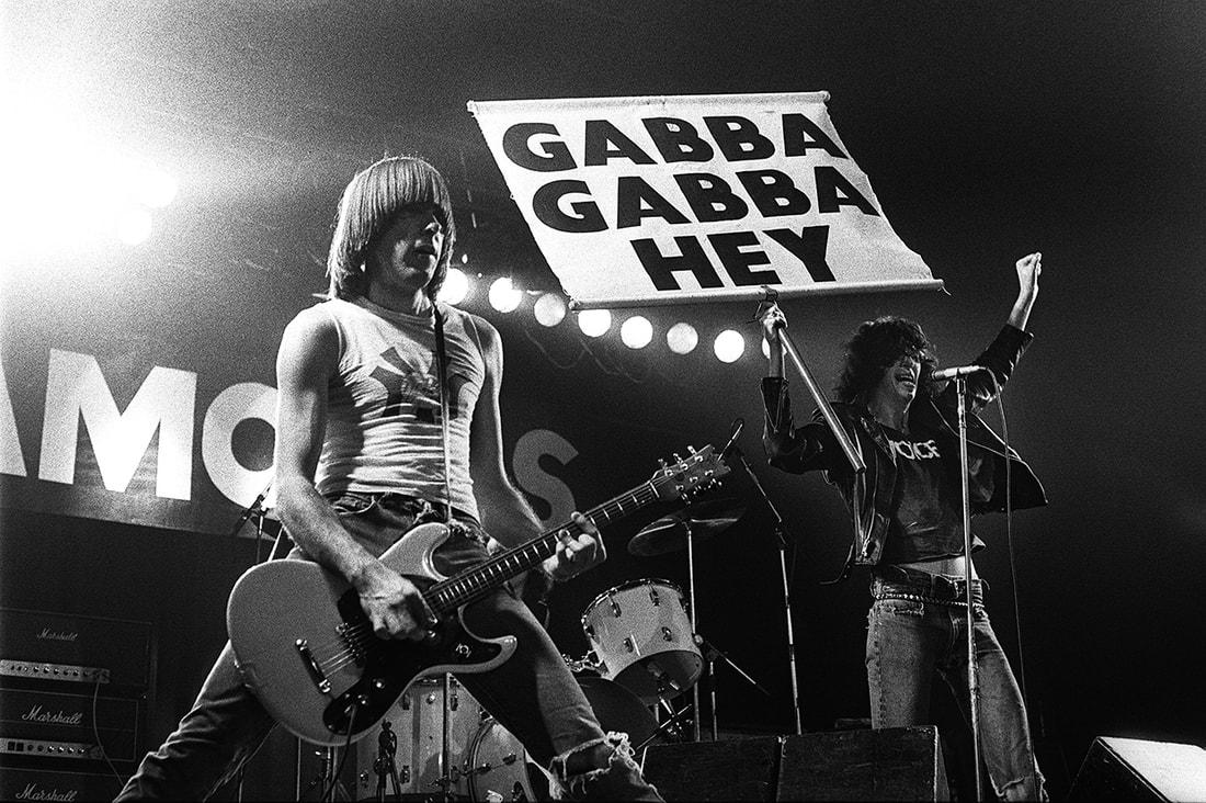 I Ramones live