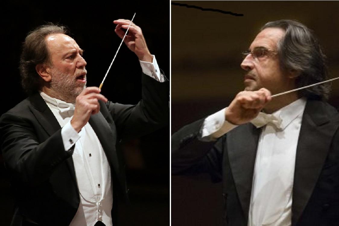Riccardo Chailly e Riccardo Muti