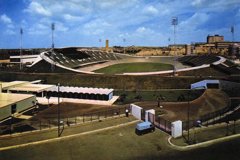 Velodromo olimpico di Roma, 1960