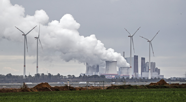 La centrale a carbone di Garzweiler, in Germania