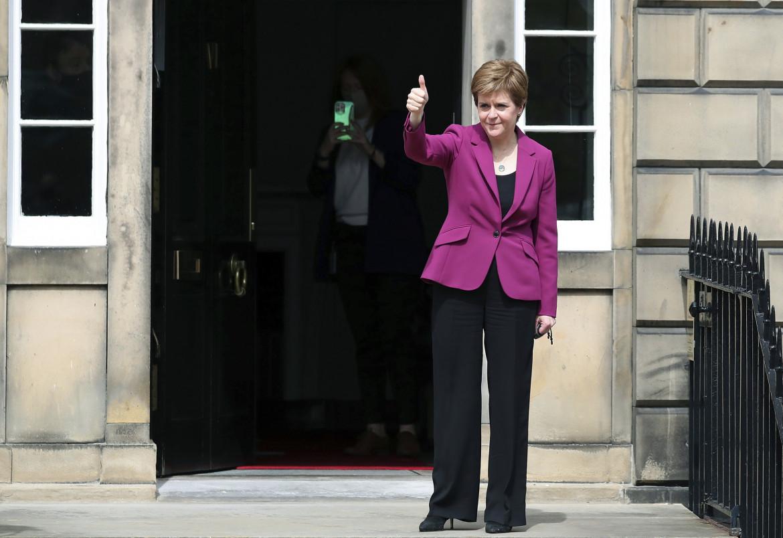La premier scozzese Nicola Sturgeon