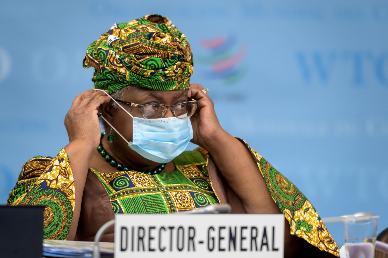 La direttrice generale del Wto Ngozi Okonjo-Iweala
